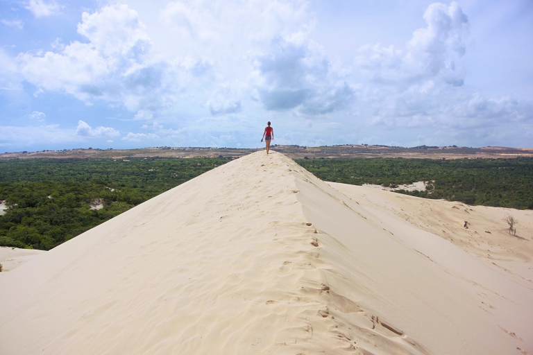 Leonie on the Sand Dune